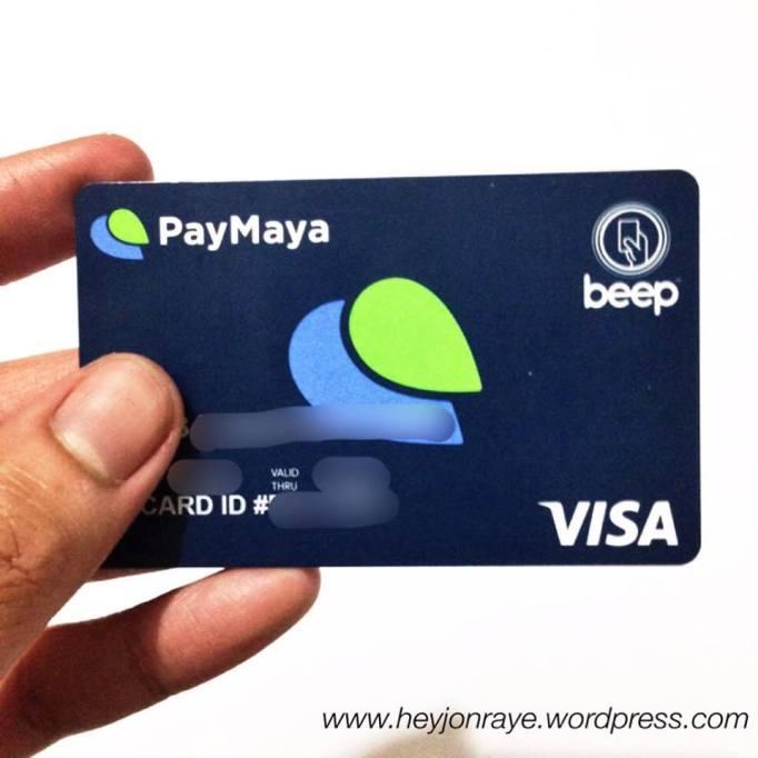 PayMaya: The PREPAID VISA (REVIEW Part 1: THE BASICS